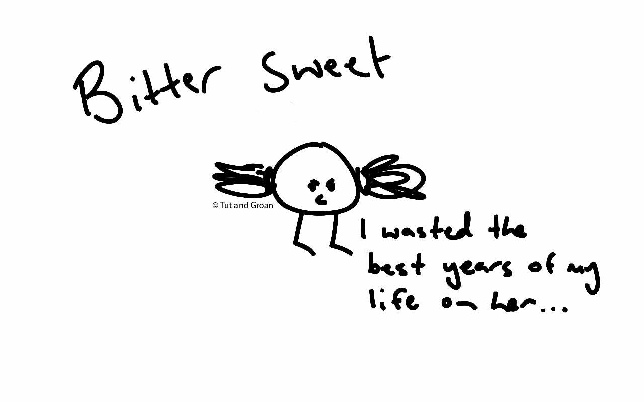 Tut and Groan Bitter Sweet cartoon