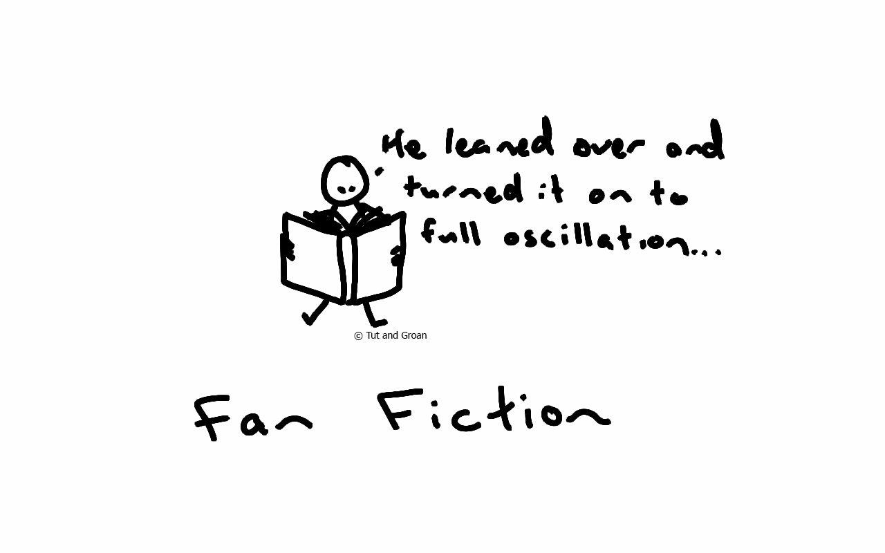 Tut and Groan Fan Fiction cartoon