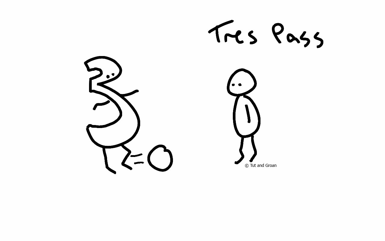 Tut and Groan Trespass cartoon