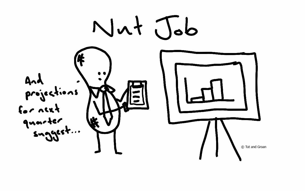 Tut and Groan Nut Job cartoon