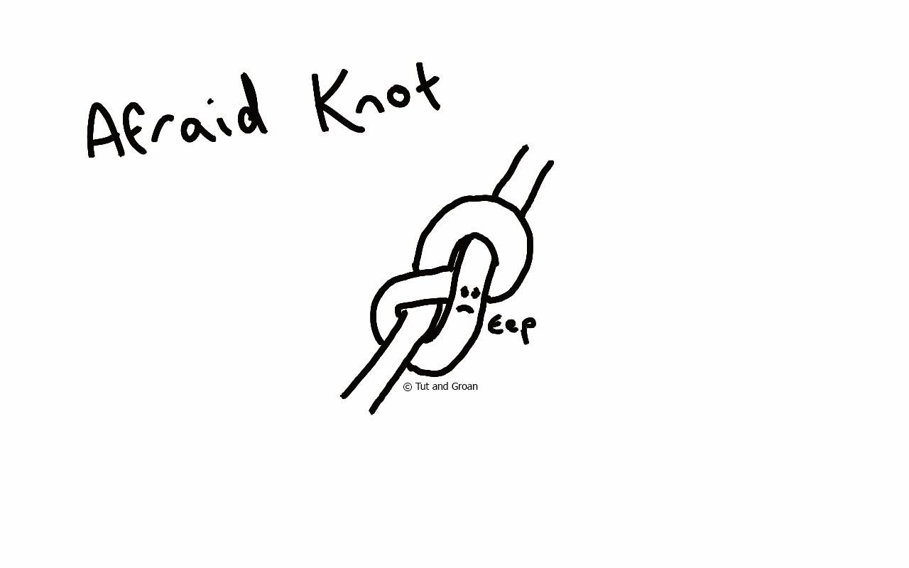 Tut and Groan Afraid Knot cartoon