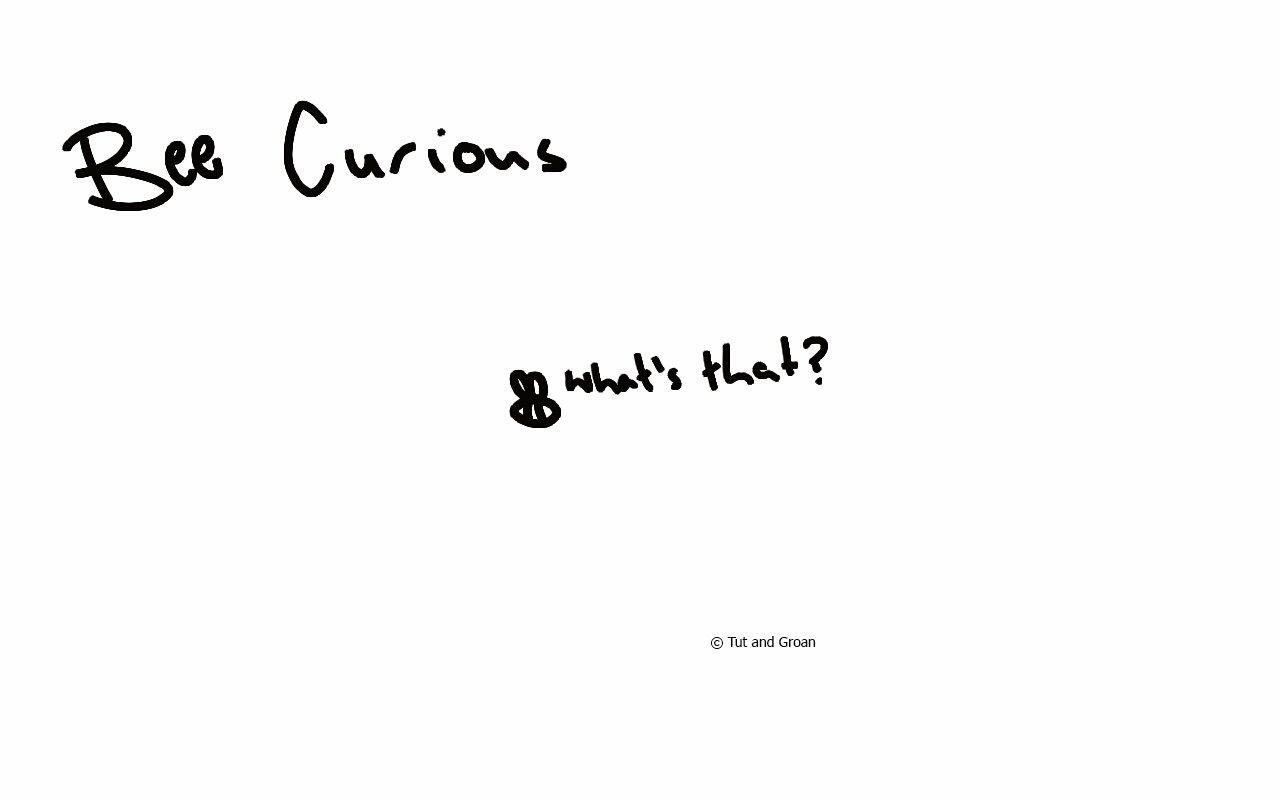 Tut and Groan Bee Curious cartoon