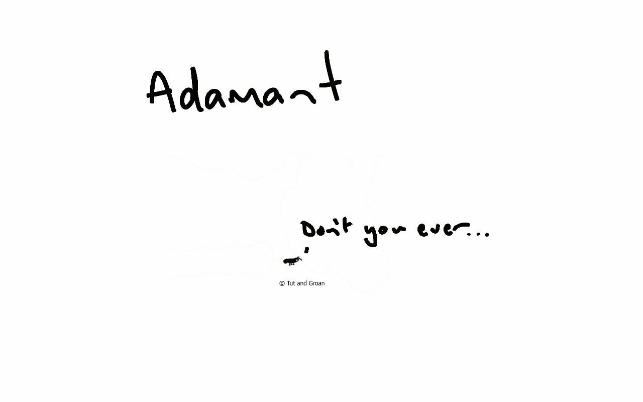 Tut and Groan Adamant cartoon