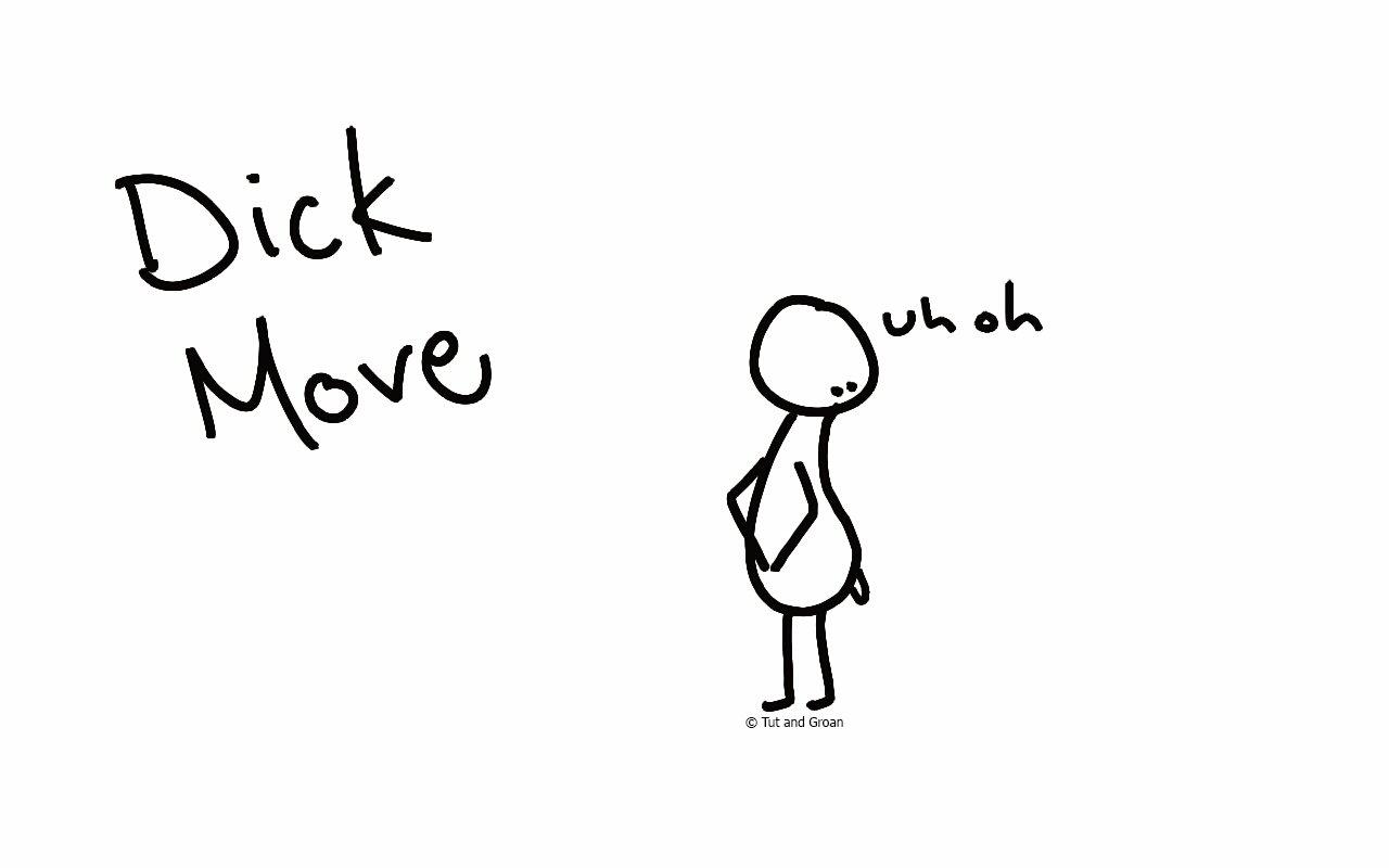 Tut and Groan Dick Move cartoon