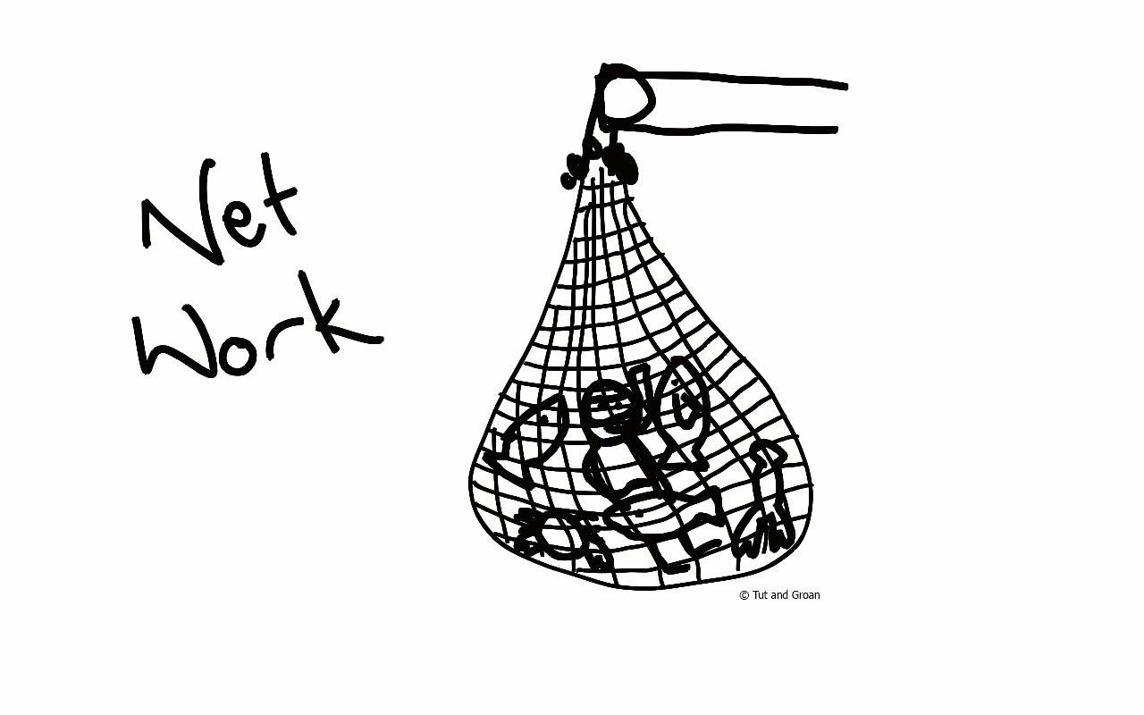 Tut and Groan Net Work cartoon