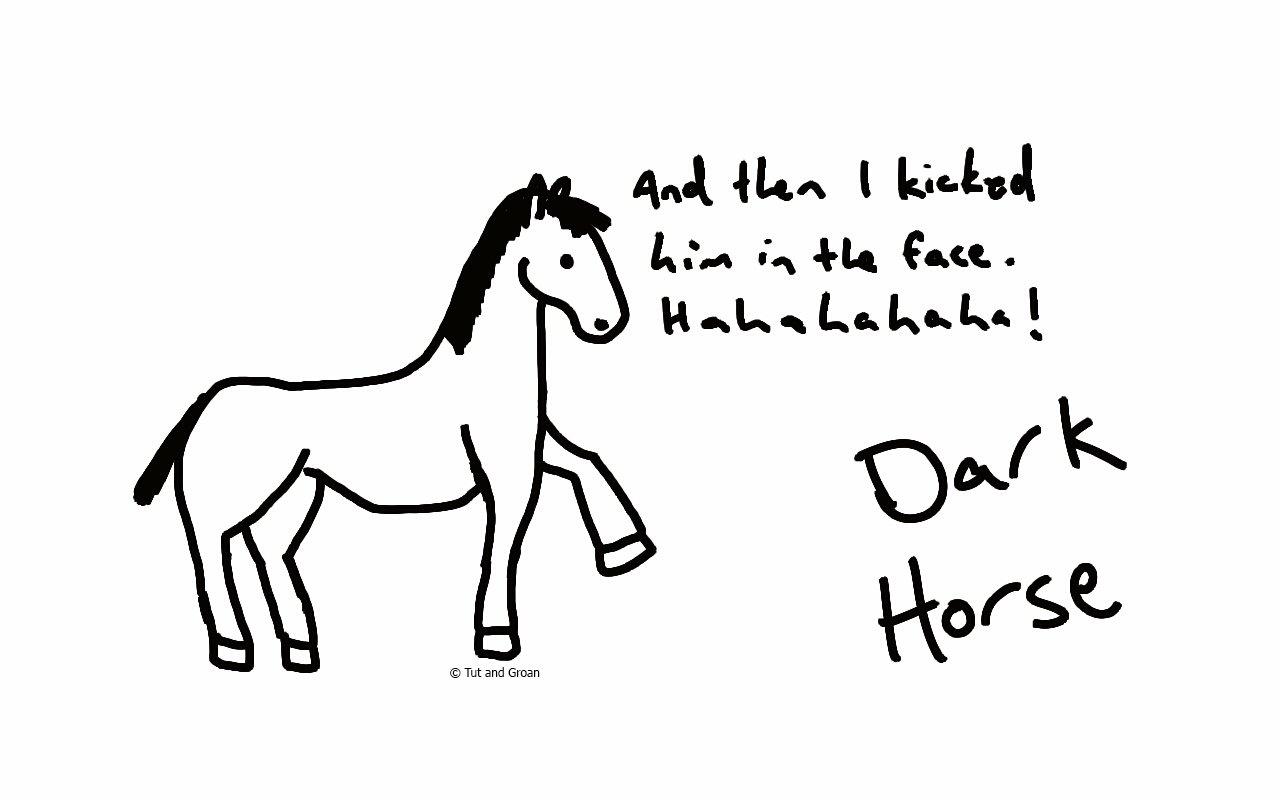 Tut and Groan Dark Horse cartoon