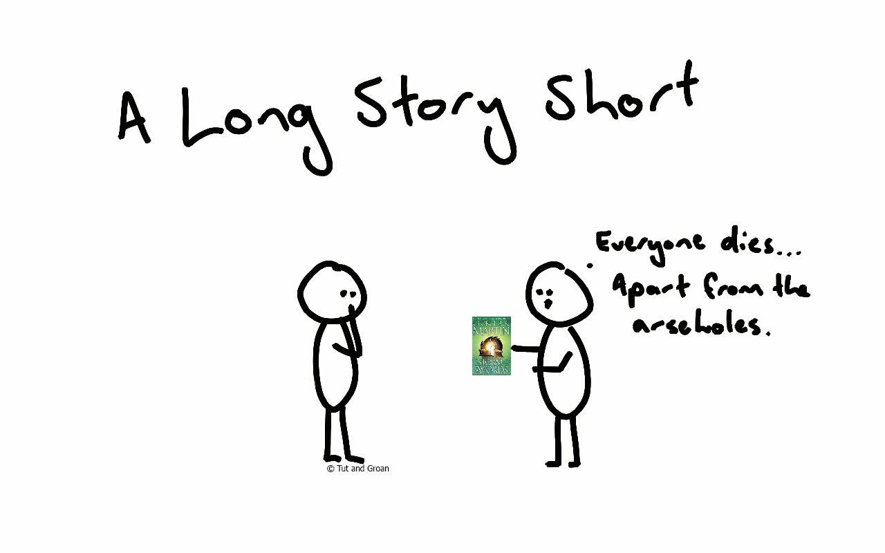 Tut and Groan A Long Story Short cartoon