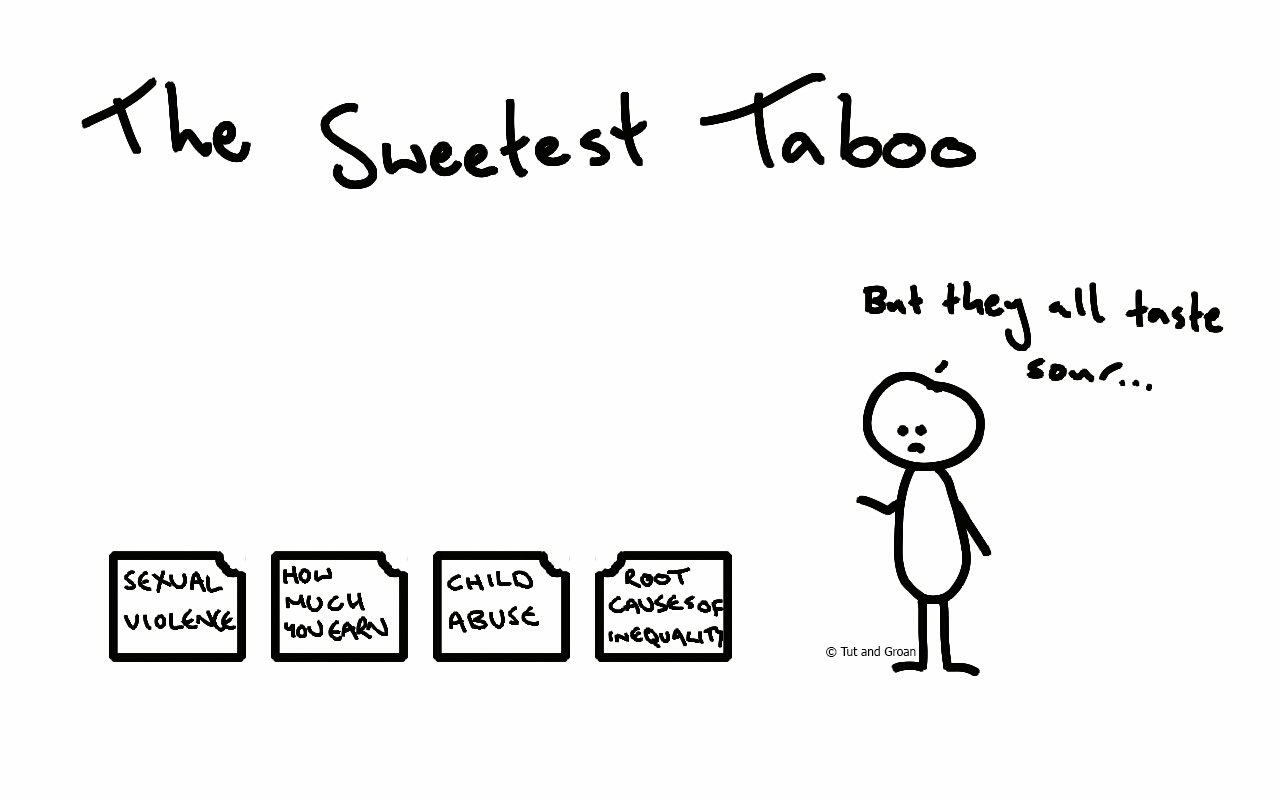 Tut and Groan The Sweetest Taboo cartoon