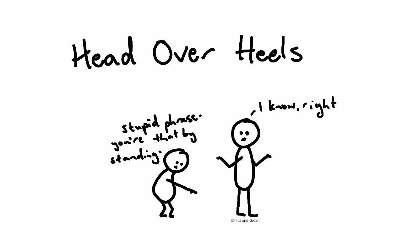 Tut and Groan Head Over Heels cartoon