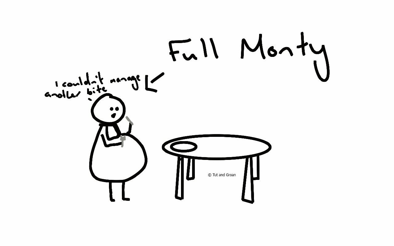 Tut and Groan Full Monty cartoon