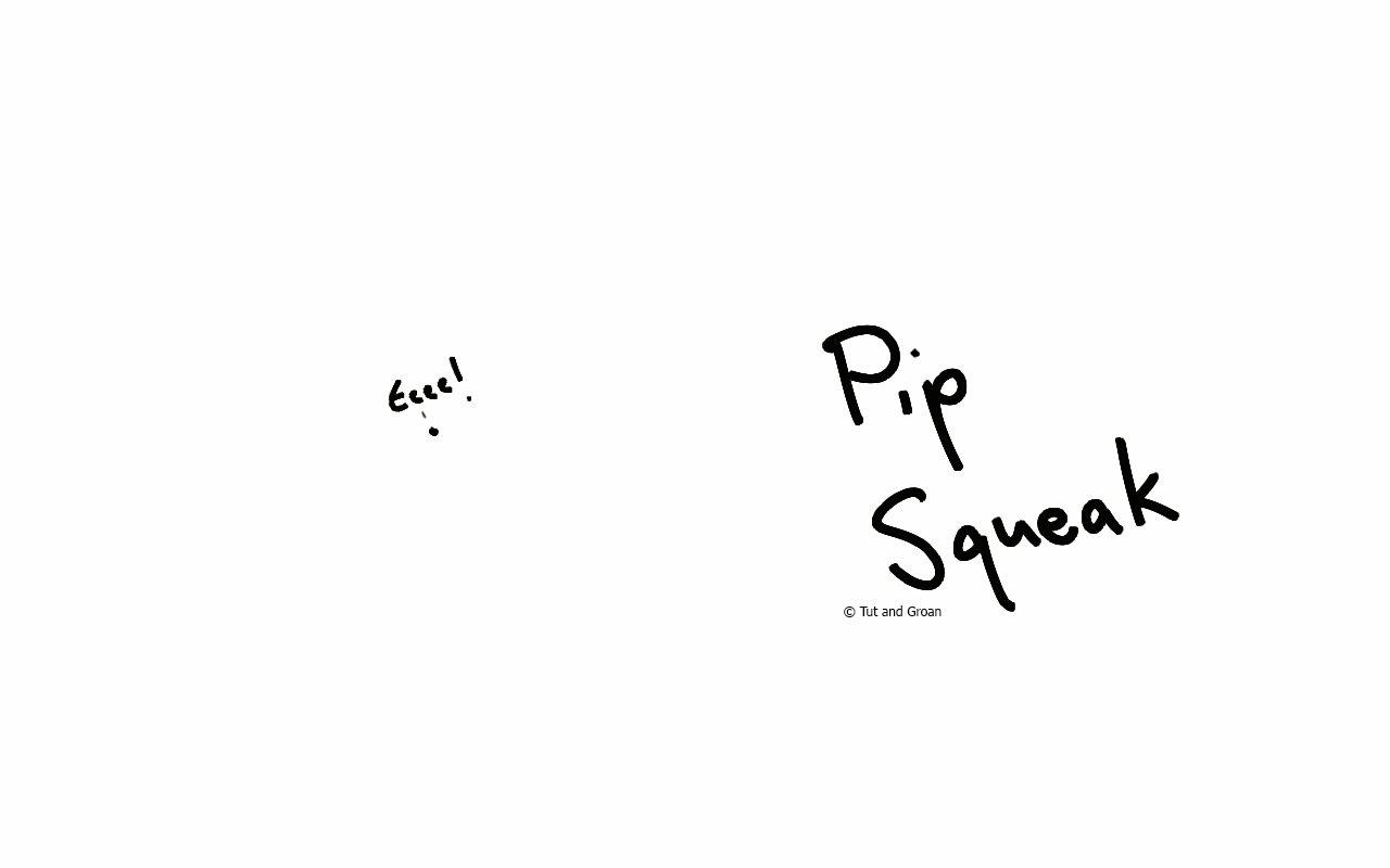 Tut and Groan Pip Squeak cartoon