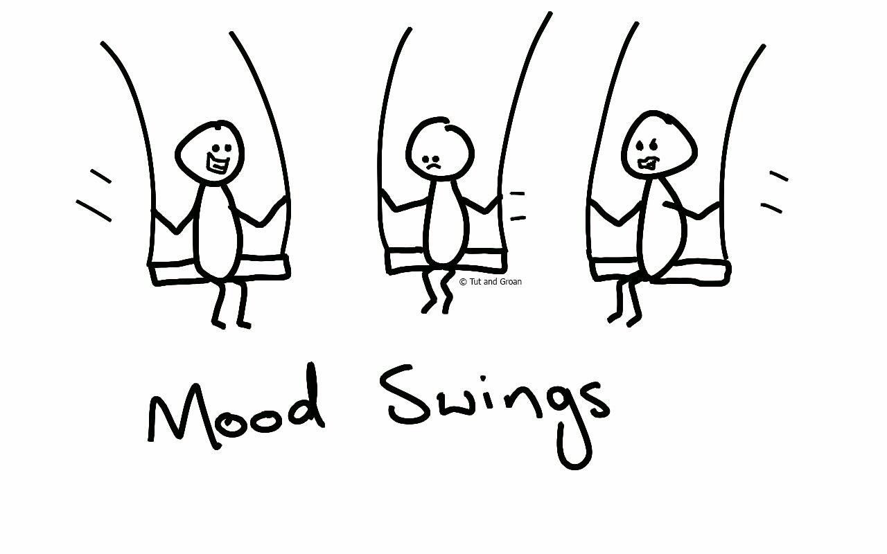 Tut and Groan Mood Swings cartoon