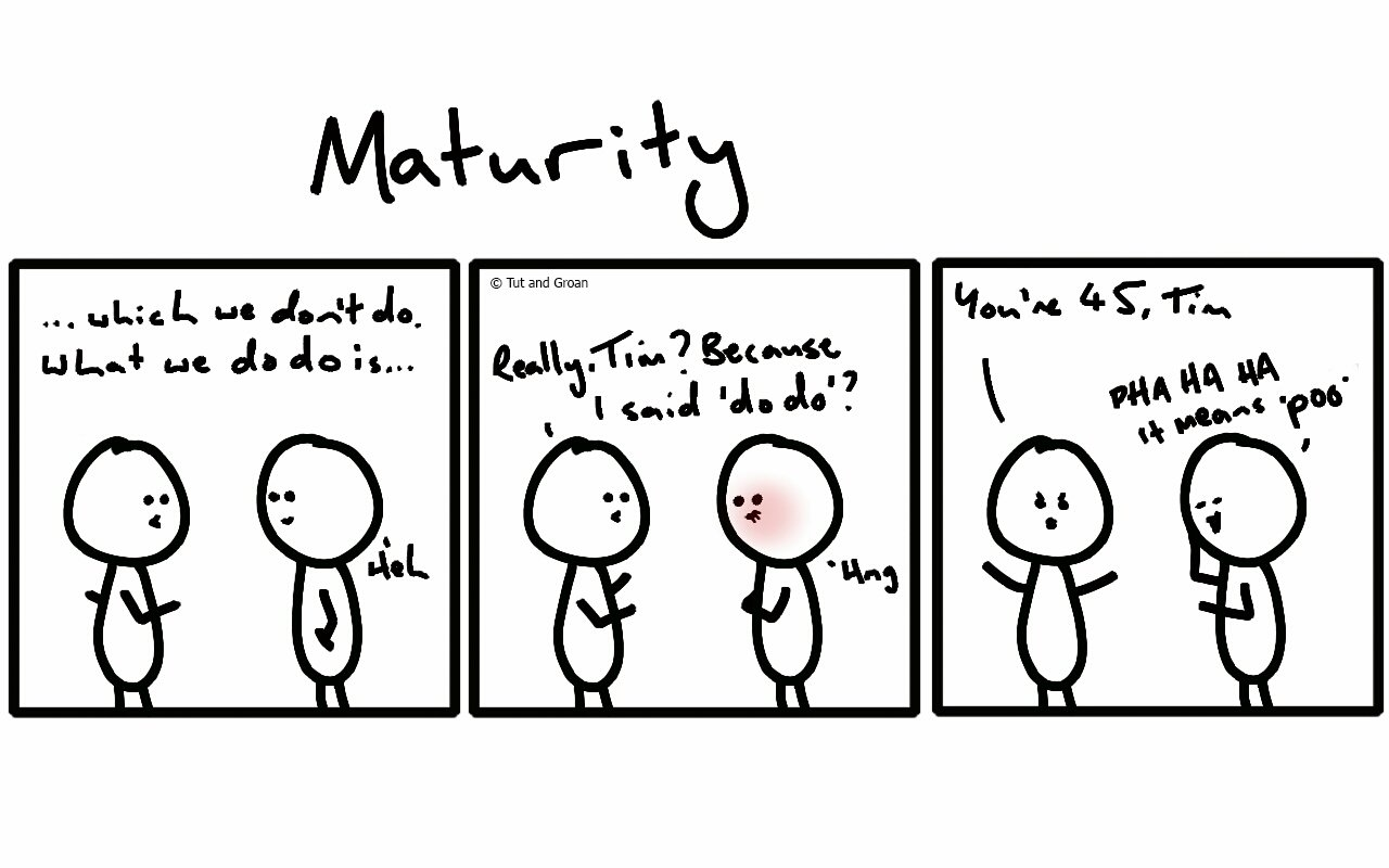 Three Panels: Maturity