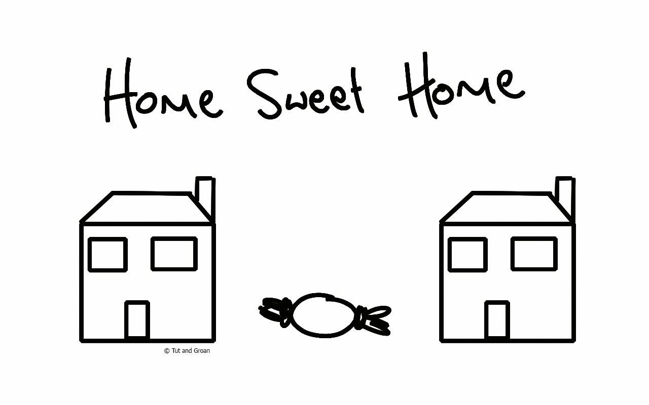 Tut and Groan Home Sweet Home cartoon