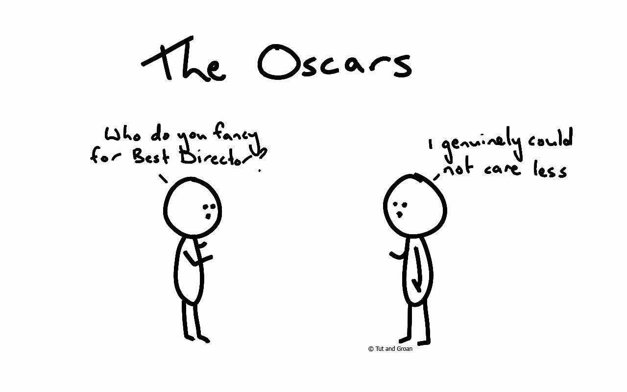 Tut and Groan Oscars cartoon