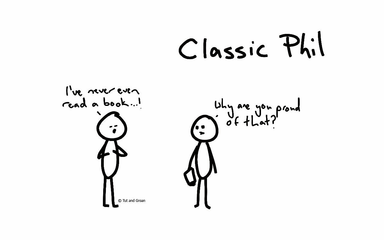 Tut and Groan Classic Phil Part Six cartoon