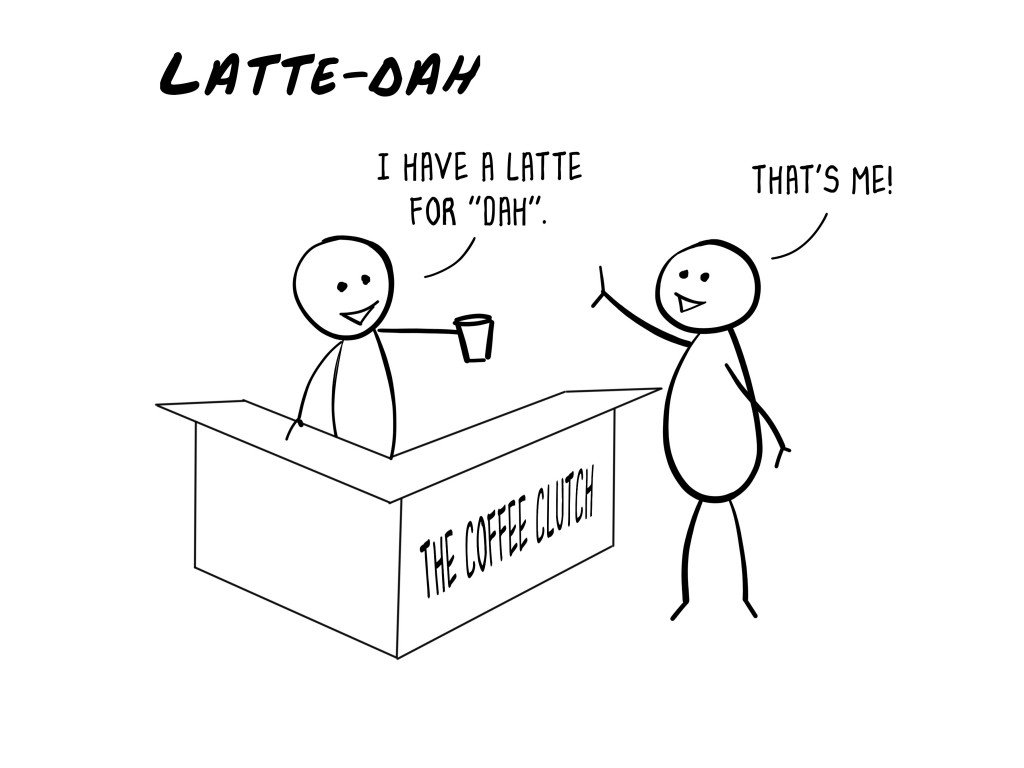 Tut and Groan Latte-Dah by IHasKid cartoon