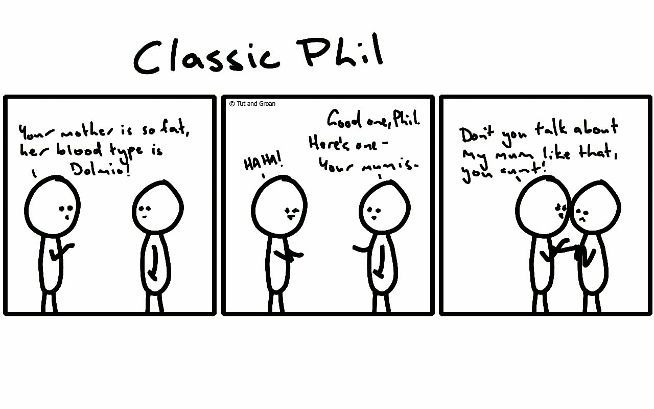 Tut and Groan Classic Phil Part Seven cartoon