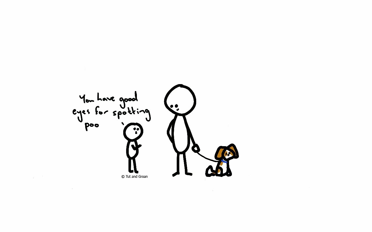 Tut and Groan Things My Nephew Says (Part One) cartoon