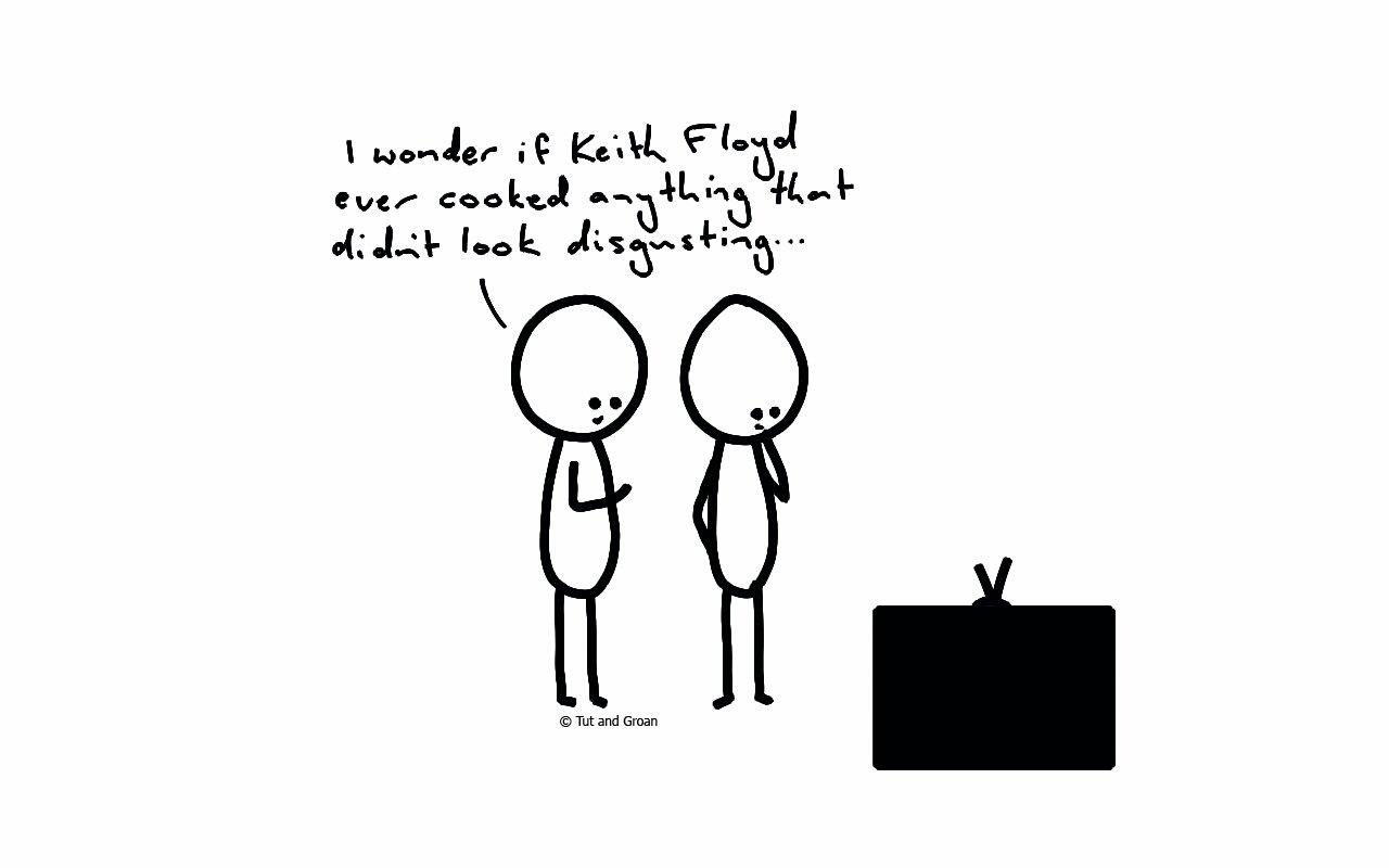 Tut and Groan Floyd cartoon