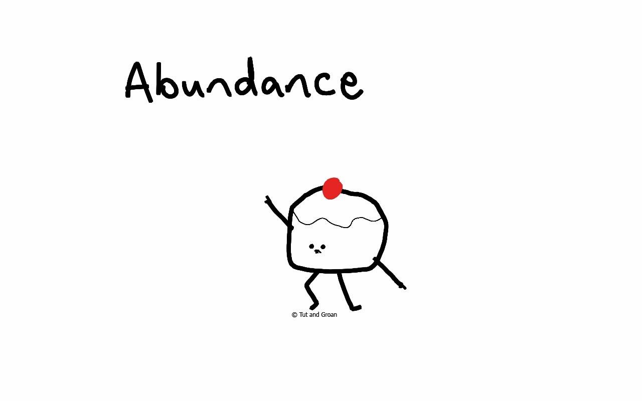 Tut and Groan Abundance cartoon