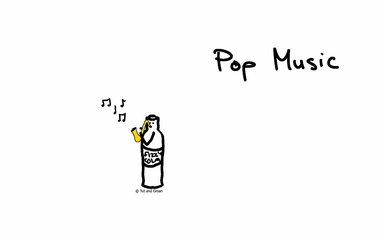 Tut and Groan Pop Music cartoon