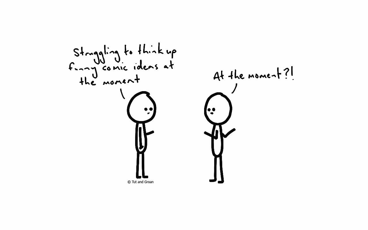Tut and Groan Funny Comic Ideas cartoon