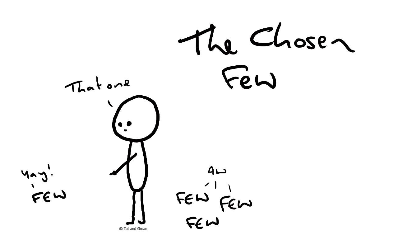 Tut and Groan The Chosen Few cartoon