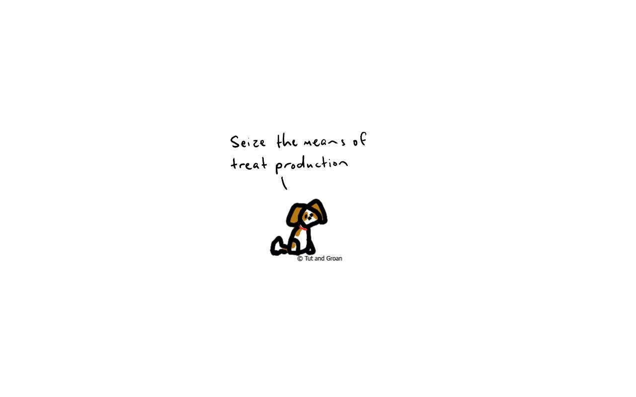 Tut and Groan Year of the Dog cartoon