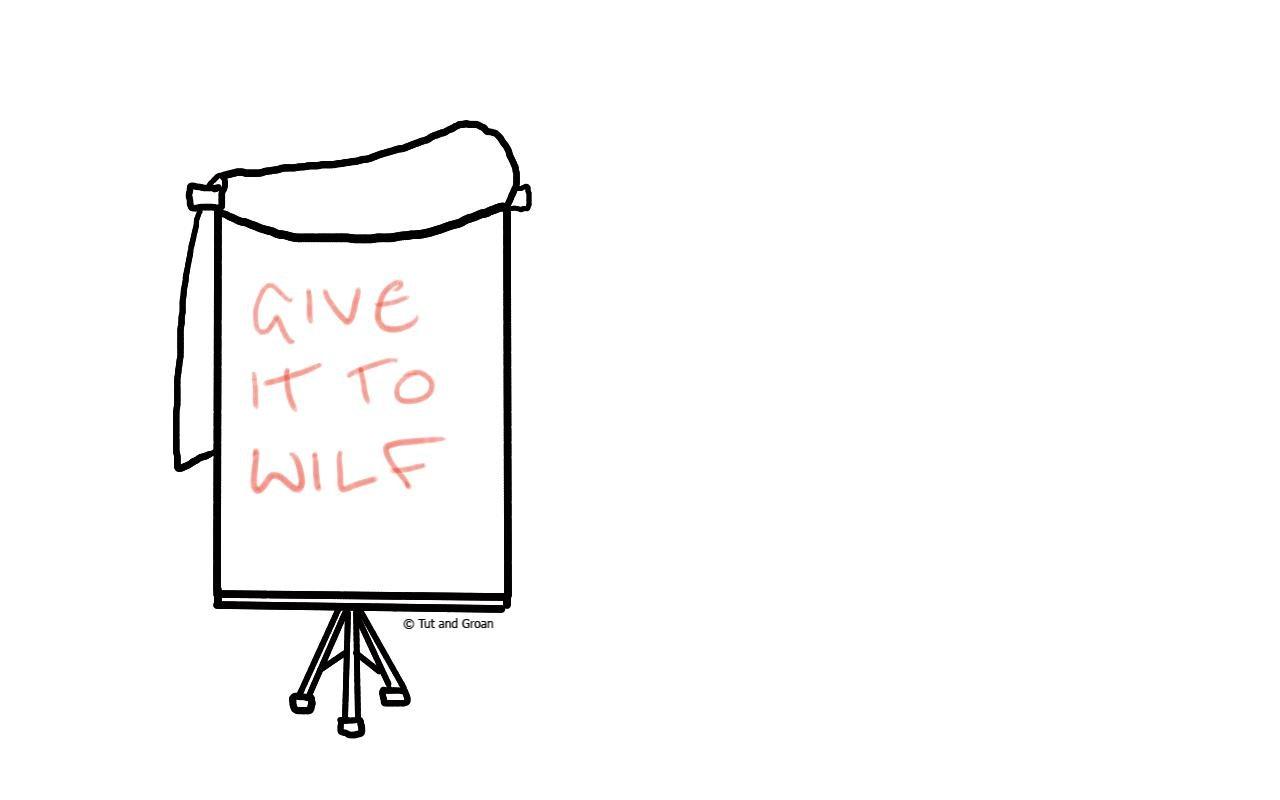 Tut and Groan Crystal Palace Tactics cartoon