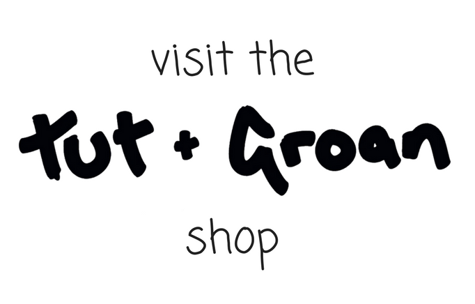 Visit the Tut and Groan Shop