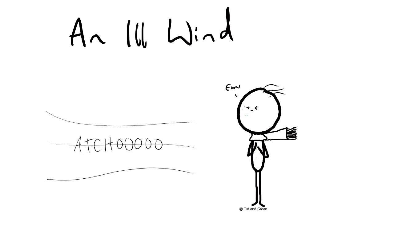 Tut and Groan An Ill Wind cartoon