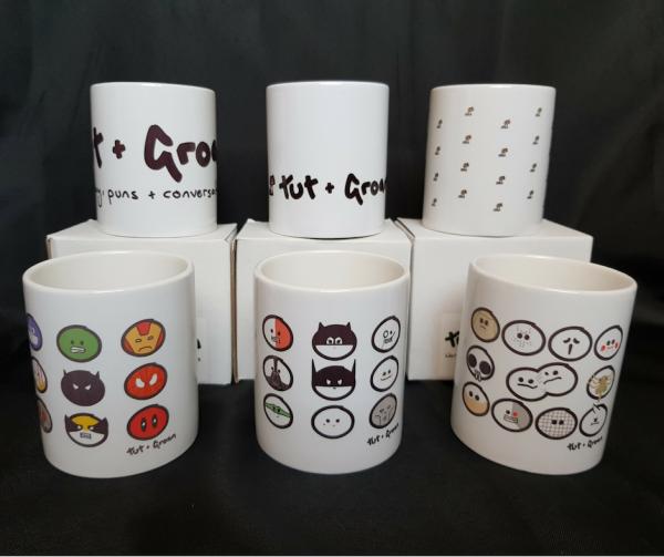 Mugs: All Six Designs