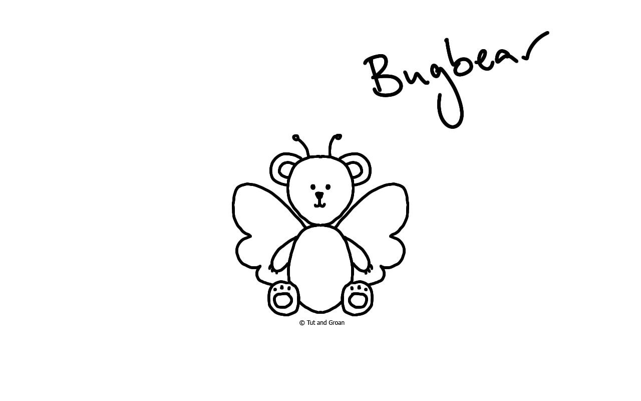 Tut and Groan Bugbear cartoon